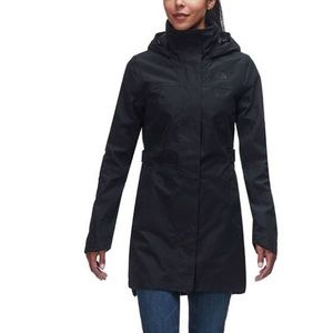 The North Face Hyvent Belted Trench Coat with Hood